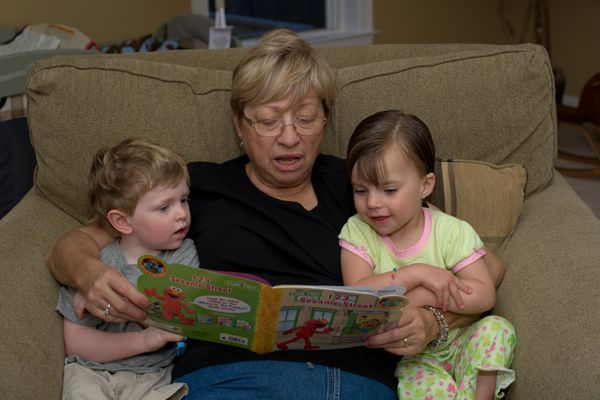 bedtime story with nana
